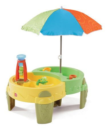 This Shady Oasis Sand & Water Table is perfect! #zulilyfinds