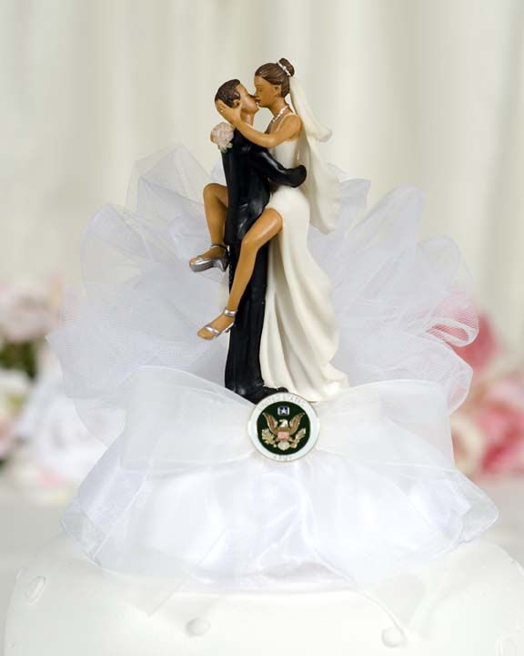 Military Y Cake Topper Air Force Navy Army Marines Custom Painted Hair Color Available 109005 In 2018 My Wedding