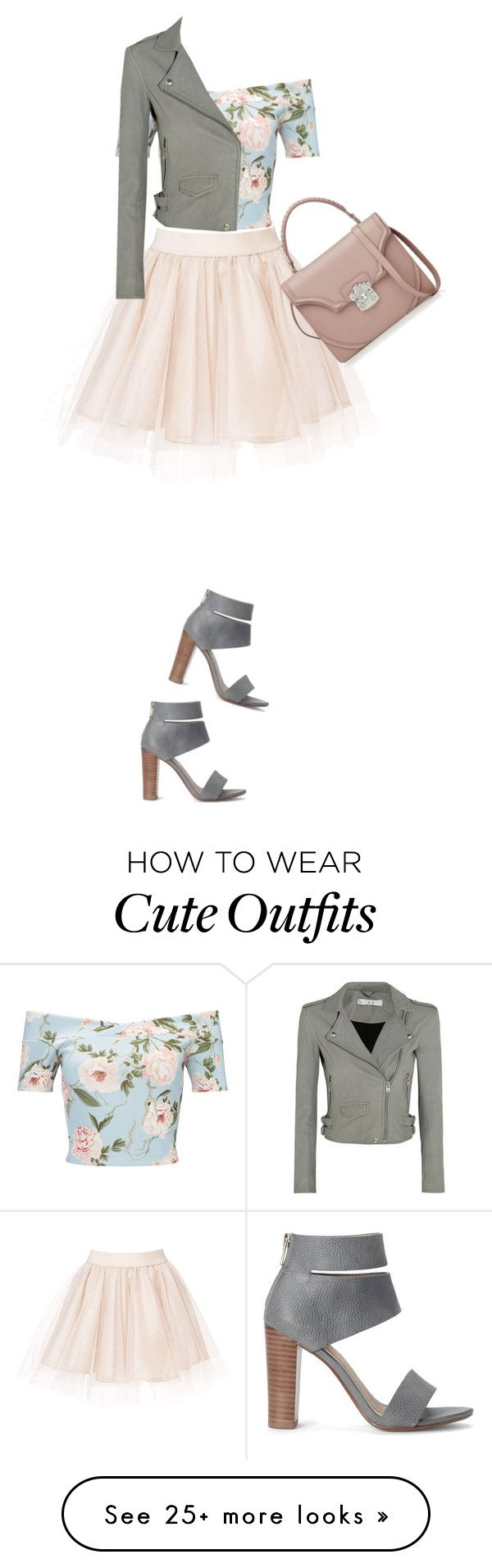 """Outfit"" by cachomy on Polyvore featuring Miss Selfridge, Splendid, IRO and Alexander McQueen"