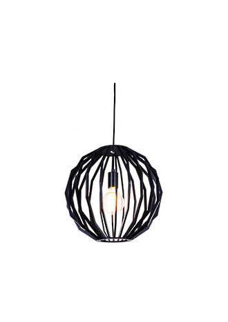 MALMO BLACK 300MM PENDANT - Modern Pendants - Pendant Lights - Lighting Direct Limited
