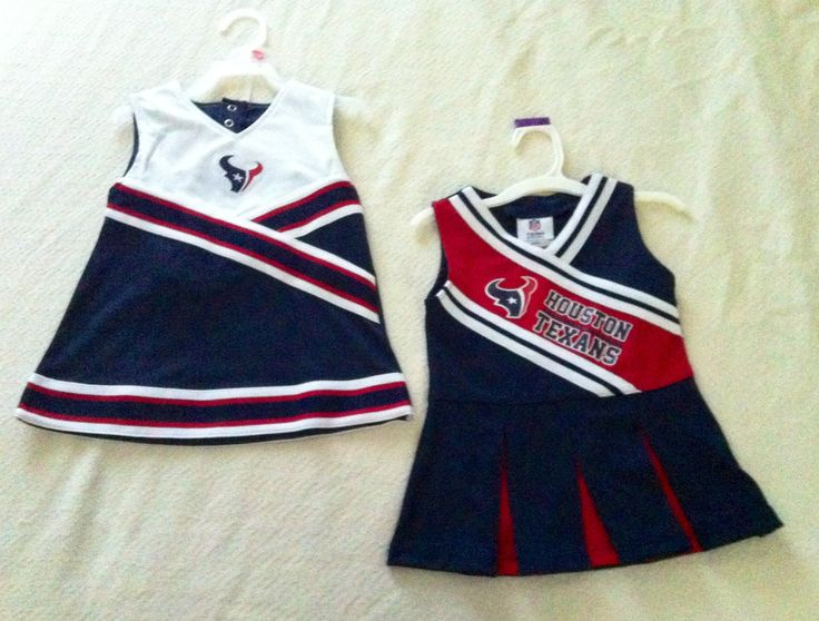 Houston Texans cheerleader outfits 2T. Baby girl gearing up for new season.