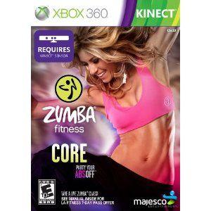 Zumba Fitness Core --- http://www.amazon.com/Zumba-Fitness-Core-Xbox-360/dp/B008BERH08/?tag=lovyoupet0e-20