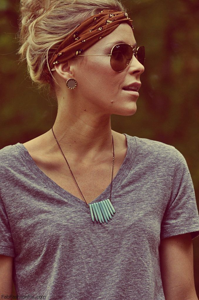 25 Best Ideas About Bandana Hairstyles On Pinterest