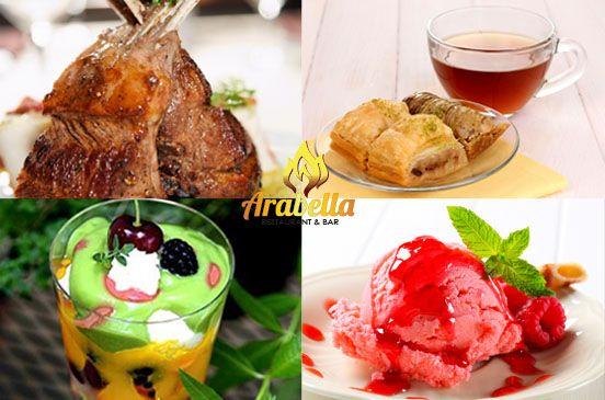 Try A Little Bit of Lebanese Food and Dessert at Arabella Restaurant in Sydney, Australia  #lebanesefoodinsydney #arabicfoodinsydney #middleeasternfoodinsydney