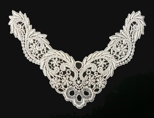 Sewing Material Cotton Chemical Motive Lace Ivory 1pcs #Ansoyoung