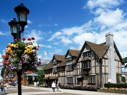 Stratford Upon Avon, England: Birthplace of William Shakespeare