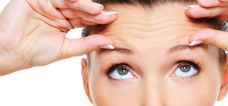 how to get rid of stress lines on forehead