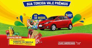 """MEU NOME É Promoção: Promoção """"Festival do Torcedor Lojas Americanas""""  ..."""