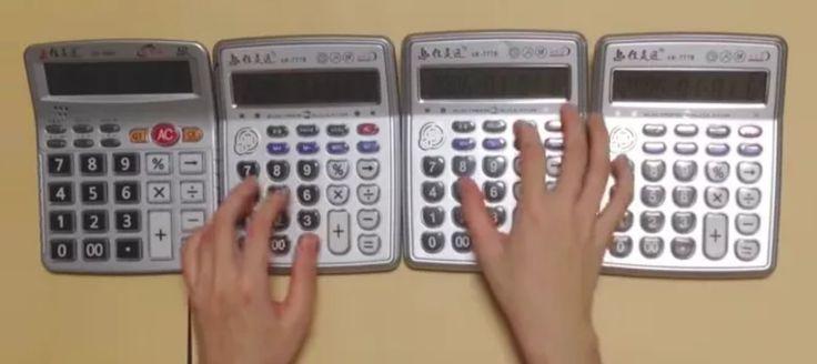 Ze względu na swą rytmiczność muzyka ma wiele wspólnego z matematyką. To komunał, ale seria muzycznych kalkulatorów chińskiej firmy Jia Ling Tong Electronic Co. Ltd. sprawia, że to stwierdzenie nabiera zupełnie nowego znaczenia... http://exumag.com/jia-ling-tong-muzyczne-kalkulatory/