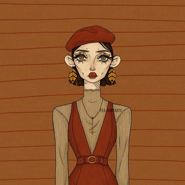 Pink Dress by Chesty-Larue-Art.deviantart.com on
