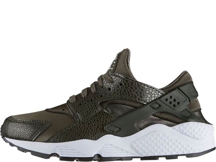 Nike Air Huarache dames sneaker. Groen. Laag model.