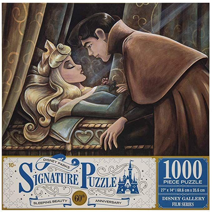 Disney Parks Sleeping Beauty 60th Anniversary 1000 Piece Jigsaw Puzzle Everything El Disney Jigsaw Puzzles Disney Sleeping Beauty Disney Puzzles