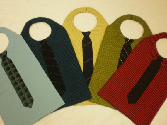 Adult Bibs for a Man in Customized Style and Color of Your Choice Men's Bib