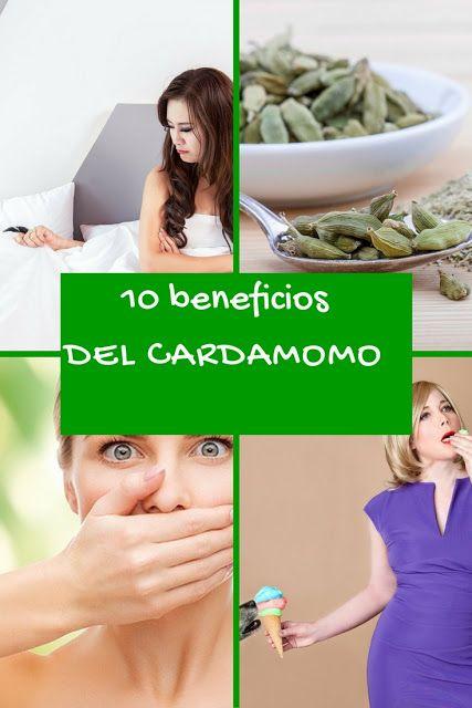 10 beneficios de consumir cardamomo