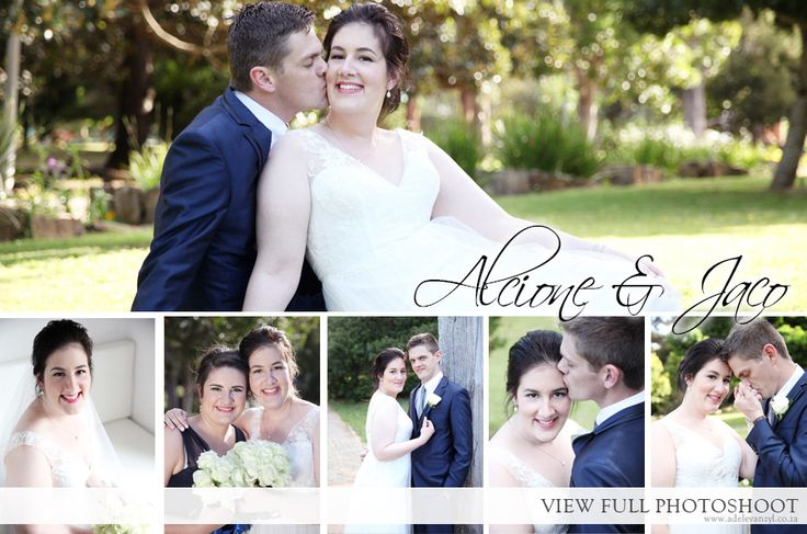 Alcione and Jaco Wedding - Adele van Zyl Photography