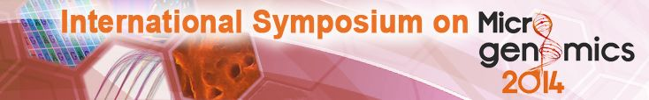 The symposium on Microgenomics will be held on 15-16 May 2014, at the Pierre and Marie Curie University, in the heart of the city of Paris. ...