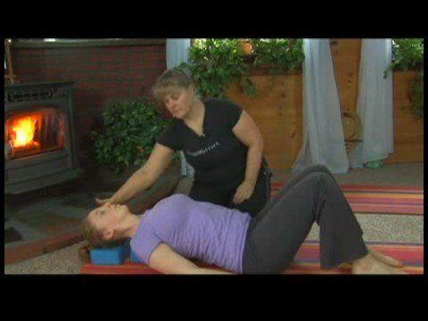 restorative yoga poses  restorative yoga supported fish