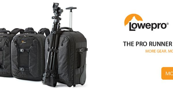 Lowepro Pro Runner II Series: A new and improved version of this popular series by Lowpro is out, specially designed with the adventurous, travelling photographer in mind.