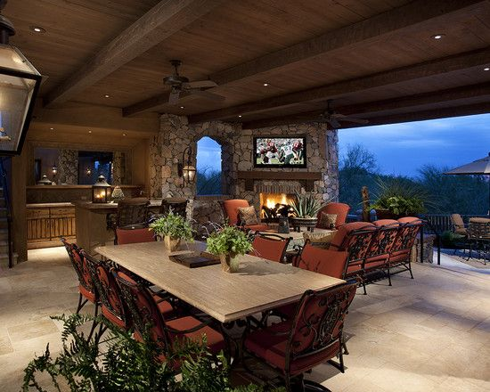 Mediterranean Patio Outdoor Kitchen Design, Pictures, Remodel, Decor and Ideas - page 8