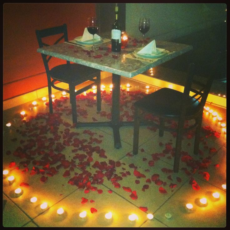 Oltre 25 fantastiche idee su sorpresa romantica su - Cita romantica en casa ...