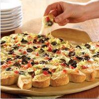 Antipasti Pull-Apart Pizza