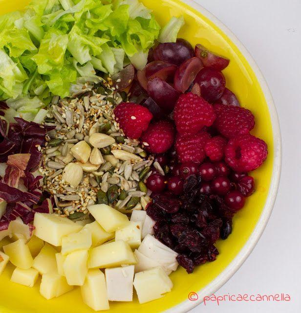 paprica e cannella BLOG: Insalata frutta, semi e formaggio