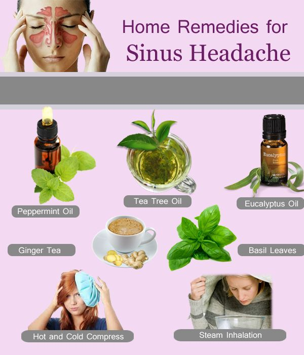 Natural Remedies For Sinus Infection While Pregnant