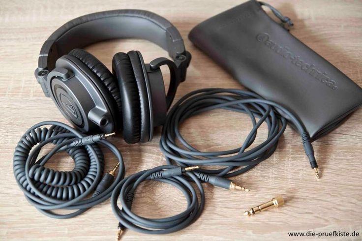 Seid ihr auf der Suche nach einem hervorragenden Kopfhöhrer? Dann schaut euch unbedingt das Audio Technica ATH-M50X an!