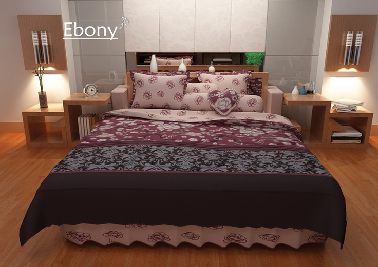 Ebony Bed Cover
