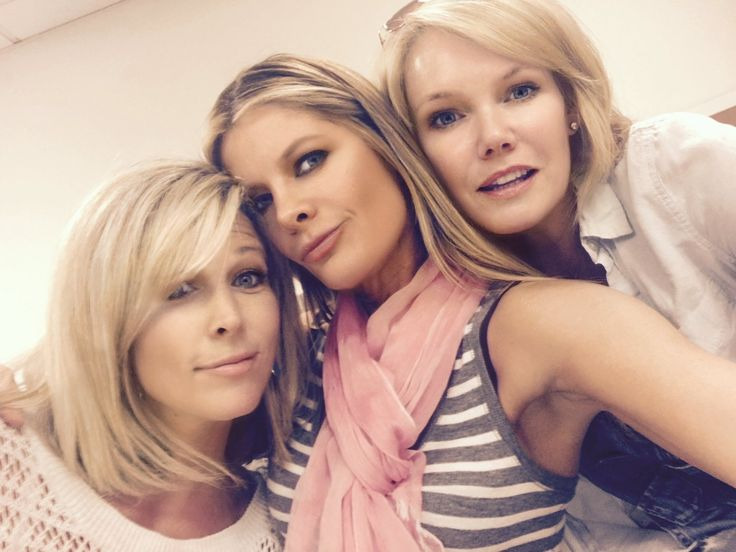 Laura Wright, Michelle Stafford and Maura West