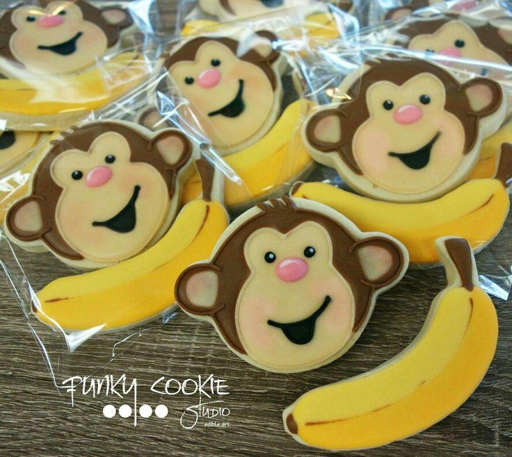 Jill FCS:  Cute monkey business.   Monkey.   Banana.