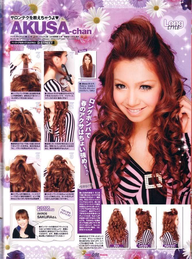 gyaru hairstyles | Tiptoe Through The Tulips...: GYARU HAIR TUTORIAL SPAM PART 1 20 ...