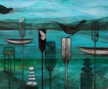 "Kathryn Furniss NZ Artist: "" Calling me back"""
