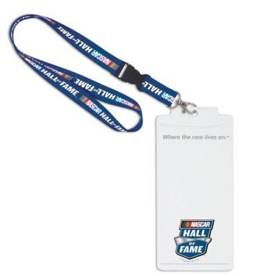 NASCAR Official Logo Lanyard And Credential Holder by NASCAR. $9.94. Show your team pride everywhere you go. Perfect for the office, school, gym, or game days. Top-quality, officially licensed lanyard. Keychain or credential/badge holder clips on for easy release. Officially licensed by the league and the team. Official team logos, official team colors.