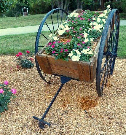 These Gardeners Have Captured The The Charm Of A Farmeru0027s Country Market  With These Winsome Flower Carts, Filled With Spring And Summer Flowers Or  Just ...