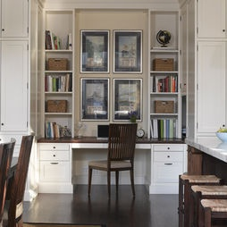 Built-in Desk Design, Pictures, Remodel, Decor and Ideas
