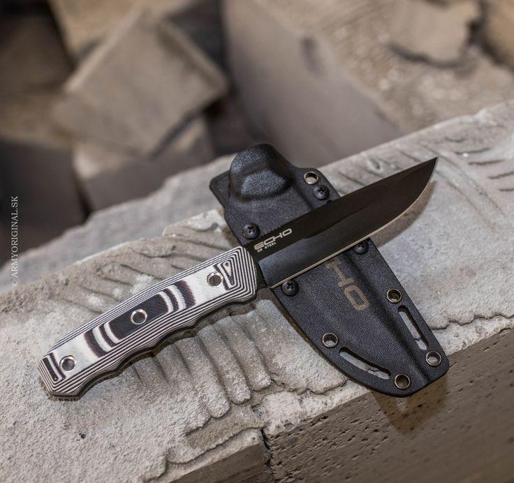 Nôž ECHO D2 čierny, Kizlyar Supreme