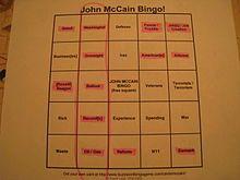 Buzzword bingo - Wikipedia, the free encyclopedia