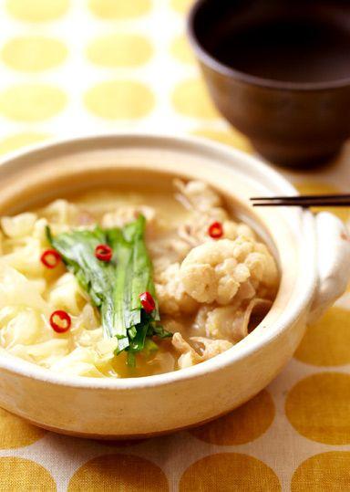 もつ鍋 のレシピ・作り方 │ABCクッキングスタジオのレシピ | 料理教室 ... 材料(2人分)