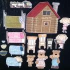 Goldilocks and the Three Bears Magnet Board Story Set from byMaree on Zibbet