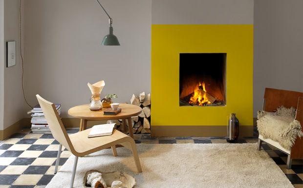 1000 id es propos de peindre une chemin e sur pinterest chemin e en brique relooking. Black Bedroom Furniture Sets. Home Design Ideas