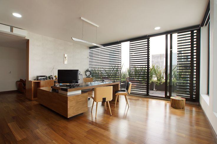 AG Consultores | Dionne Arquitectos | #office #center #wood #garden #furniture #interior #design