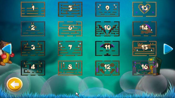 Bubble Bobble Level Select Dialog Window