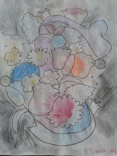 Todays flowery mind. -laura