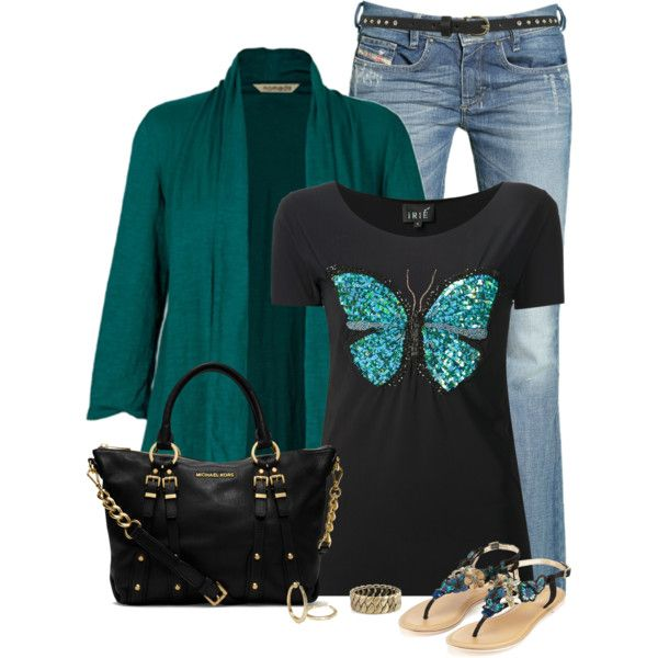 Butterfly, created by immacherry on Polyvore