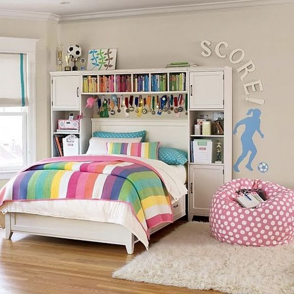 15 Awesome Girs Soccer Bedrooms