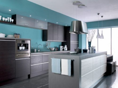 Grey And Teal Kitchen 14 best blue kitchens images on pinterest | kitchen colors, home