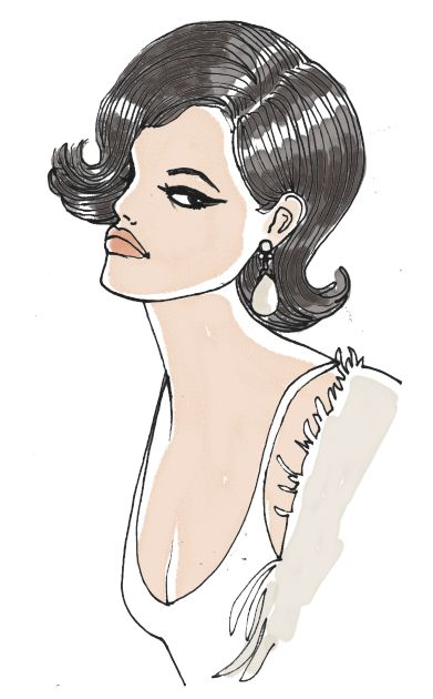 'Claudia' illustration by Giulia Benaglia