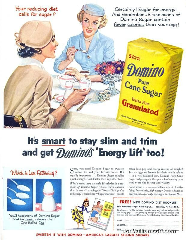 1950s. Unbelievable. | One Of The Biggest Con Jobs In Advertising History, Part 2  - oh how times have changed!!
