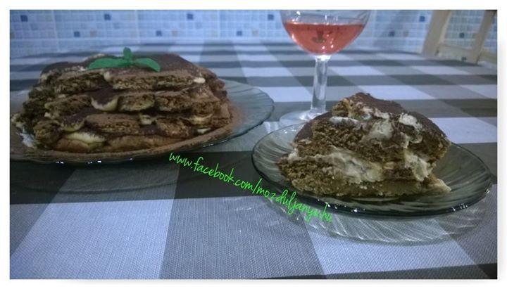 Cukor- és lisztmentes NoCarb sütőmixes, szénhidrátmentes és nagyon finom tiramisu. | Klikk a képre a receptért!